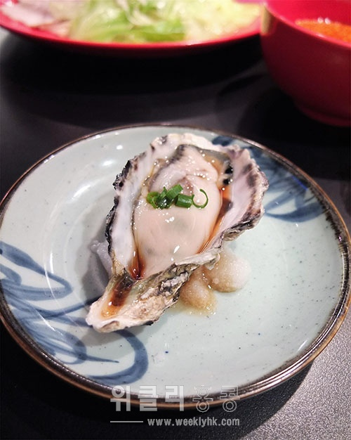 ▲ 히로시마 명물 굴 (HK$37)