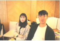 학생 인턴십에 참가한 변혜민(경북대학교4학년)학생,신중웅(경북대학교3학년) 학생 (사진왼쪽부터)
