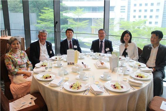△ 홍콩주요한인단체임원들이 포럼에 참석하고 있다.