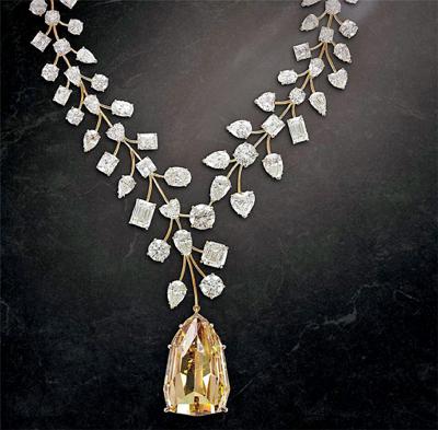 다이아몬드 목걸이