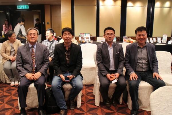 홍콩한인회 김운영 회장(사진왼쪽)/ 한인홍 임재화 대표(사진오른쪽)