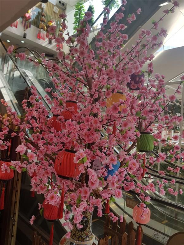 △복숭아 꽃( Peach Blossoms): 높은 지위를 반영하기 위해 고가의 화병에 꽂혀있는 꽃이다. 또한 로맨스, 번영 및 성장의 의미를 담고 있다. 복숭아꽃을 집안에 두면 연애에 성공한다고 믿고 있다.
