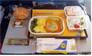 최악의 기내식 (Three of the Worst 1) : Ukraine Internationa Airline