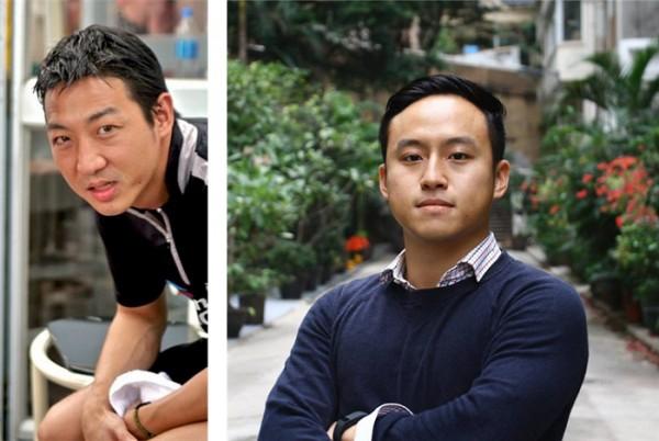 (왼쪽)캡틴 : 윤종황       총무 : 김찬영