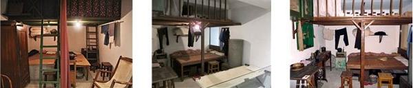 미하루 박물관 전시실 내부의 모습. 당시의 생활모습을 재현하고 있다.