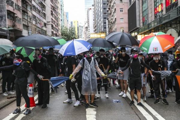 ▲ 지난 6월 이후,  반정부 시위가 홍콩 경제에 크게 영향을 미치고 있다. (사진=scmp)